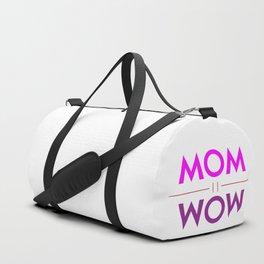 Mom Wow Duffle Bag