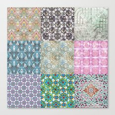 More Patterns from South East Asia Canvas Print
