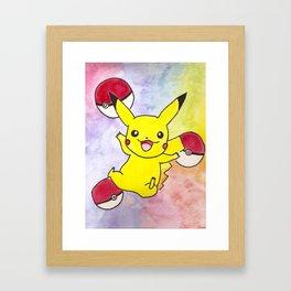 I CHOOSE YOU! Framed Art Print