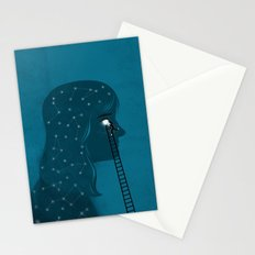 Into the deeps Stationery Cards