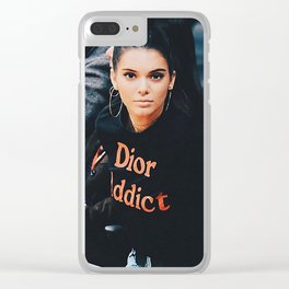 ON THE SIDELINES Clear iPhone Case