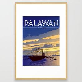 Bacuit Bay | Palawan Framed Art Print