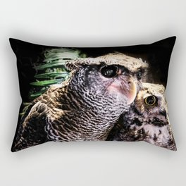 Avian Allies Rectangular Pillow