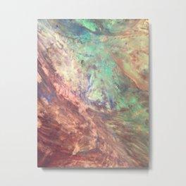 Hardcore Abstract Original Painting Art Metal Print