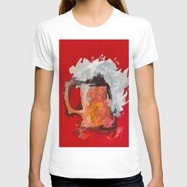 Abstract Beer #society6 #decor #buyart by Lena Owens @OLena Art T-shirt