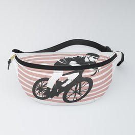 bicycle riders for people who like bicycle riding, cyclysts and bike riders  Fanny Pack