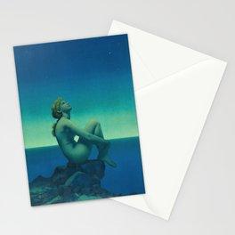 Maxfield Parrish Stars Stationery Cards
