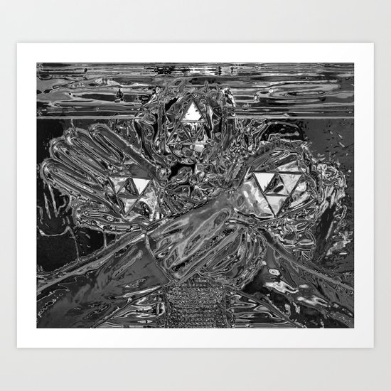 Wisdom, Power, & Courage United Art Print