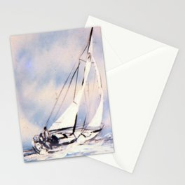 Sydney  to Hobart  Yacht Race        by Kay Lipton Stationery Cards