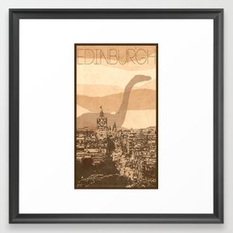 Every City Has Its Creature - Edinburgh  Framed Art Print