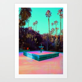 Fountain of Dreams Art Print