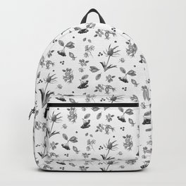 rosehip, chokeberries and teasel Backpack