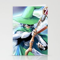 merlin Stationery Cards featuring Young Merlin by panom