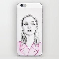 Girls in Pink Garments d iPhone & iPod Skin