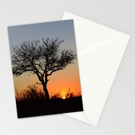 Sky Aflame Stationery Cards