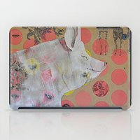 pig iPad Cases featuring pig by ferzan aktas