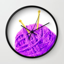 Ball of Yarn Wall Clock