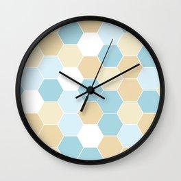 Lazy Beach Days – One of Four Wall Clock