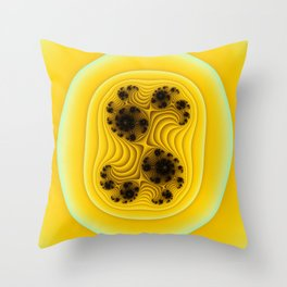 Splitting Throw Pillow