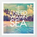 I Need Vitamin Sea by textboy