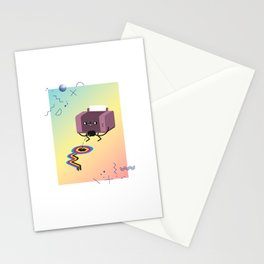 Printer Pee Stationery Cards