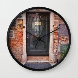 Porta Italiana Wall Clock