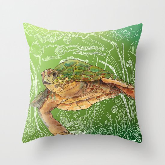Shelley II Throw Pillow