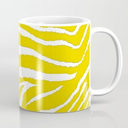 Zebra Golden Yellow Coffee Mug