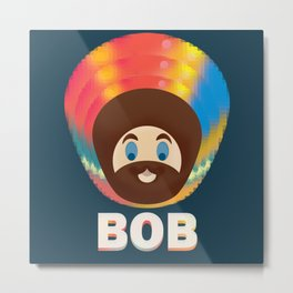 Bob is Magic Metal Print