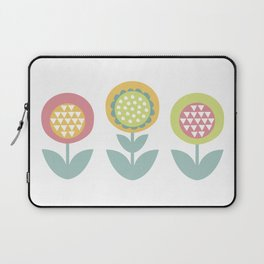 Geometric flower print  Laptop Sleeve
