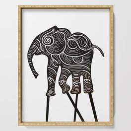 ELEPHANT SHADOW THEATRE Serving Tray