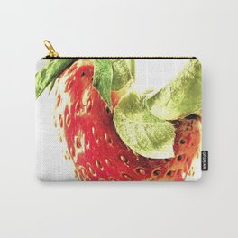 Strawberry Trio Carry-All Pouch