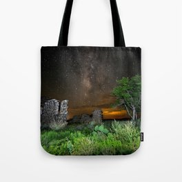 Milky Way over Texas Tote Bag