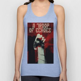a troop of echoes poster Unisex Tank Top