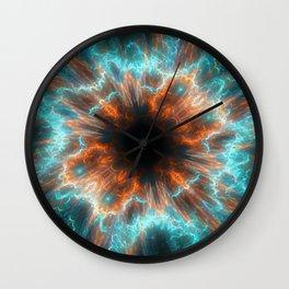 Abstract Fractal Wall Clock