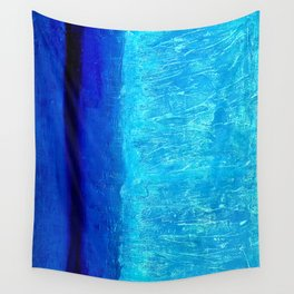 Blue Serenity Wall Tapestry
