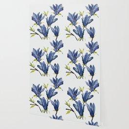 Blue Flowers 3 Wallpaper