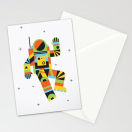 Hello Spaceman Stationery Cards