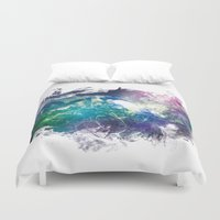 the wire Duvet Covers featuring Conscious Wire by Pulse of Prophets