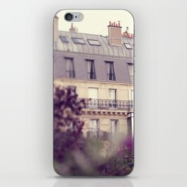 paris charm iPhone Skin