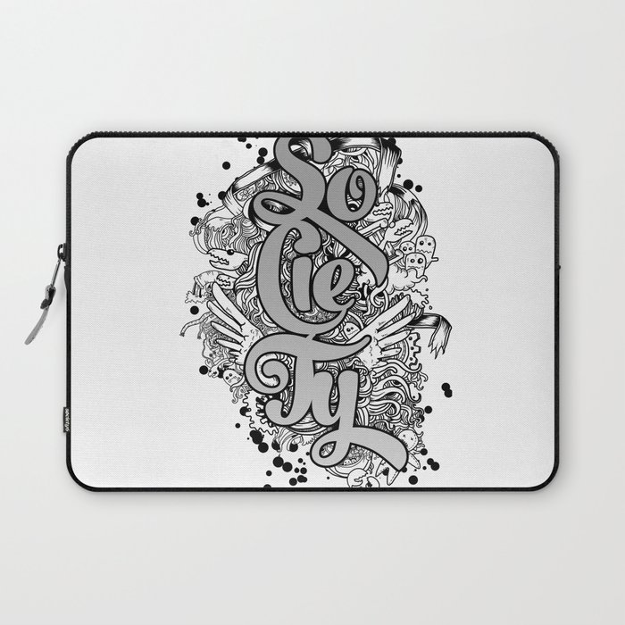 SOCIETY Laptop Sleeve