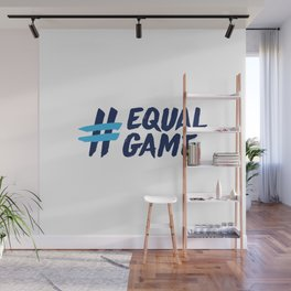 Equal Game t-shirt Wall Mural