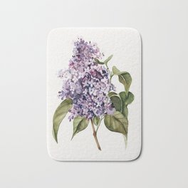 Lilac Branch Bath Mat