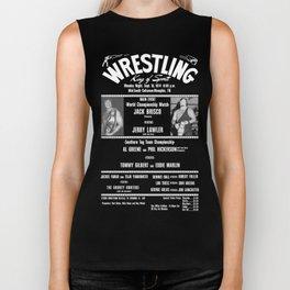 #1-B Memphis Wrestling Window Card Biker Tank