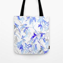 Premonition (Blue Grey) Tote Bag