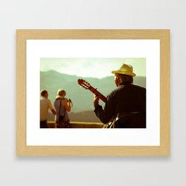 Guitara Framed Art Print