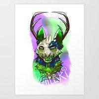 Limeblood Art Print