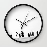 oslo Wall Clocks featuring Oslo Opera by Beau Colin