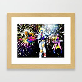 Never Mind the Morlocks, Here's the X-Pistols Framed Art Print