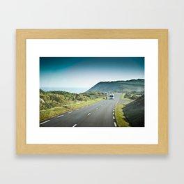 Europe Coastal Scenery - 2013 Framed Art Print